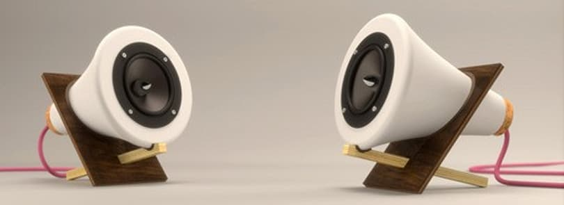 Handcrafted Ceramic Speakers are almost too pretty to blast