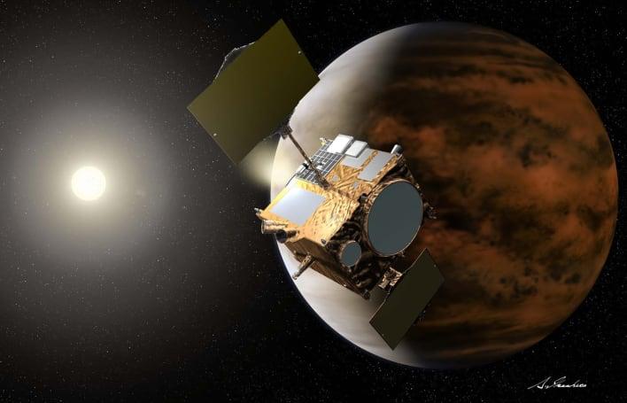 Japan's Akatsuki probe successfully makes it into Venus' orbit