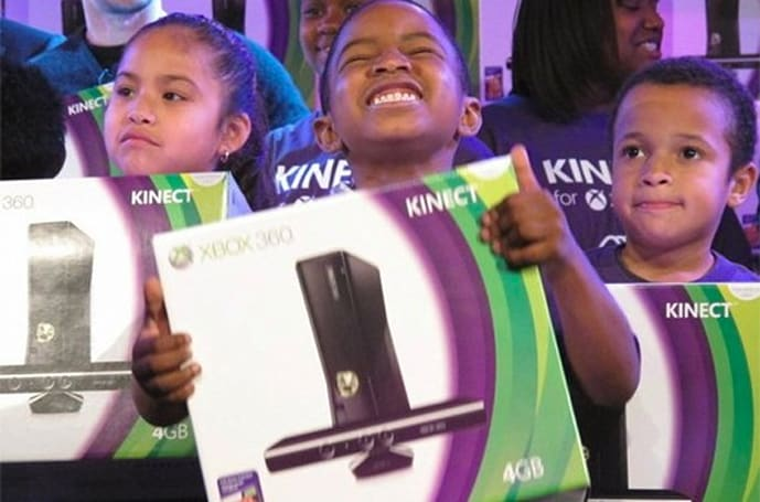 Microsoft and Mark Wahlberg team up to give Kinects to Boys and Girls Club