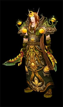 Transmogrify your blood elf into the druid of your dreams