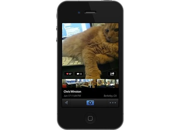 Don't call it a GIF: Lightt is an app that lets you upload silent, looping clips for your friends to comment on