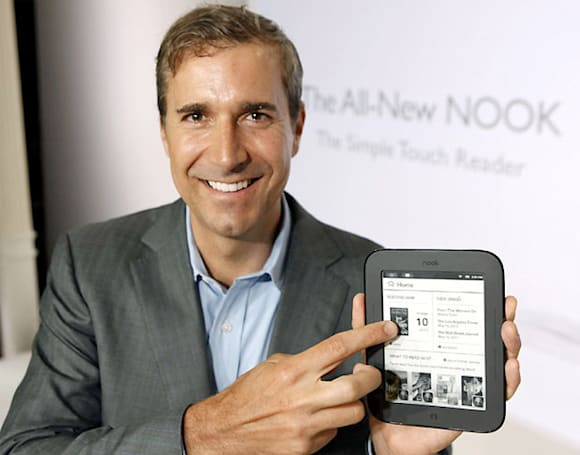 Barnes & Noble CEO William Lynch steps down; Michael Huseby appointed CEO of Nook Media