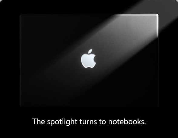 "Apple's ""spotlight turns to notebooks"" event is tomorrow, 10:00AM PT / 1PM ET"