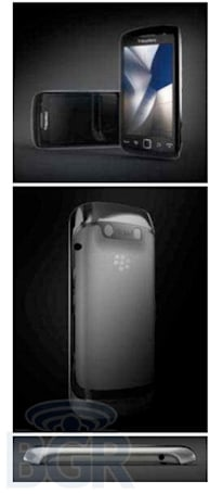 BlackBerry Storm 3 shows up again, tracking for September launch?