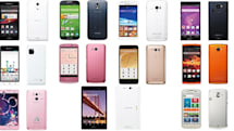 NTT DoCoMo's summer mobile lineup is all about battery life, colors and LTE