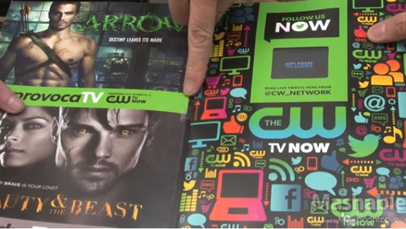 Entertainment Weekly print edition comes with a 'smartphone-like Android device'