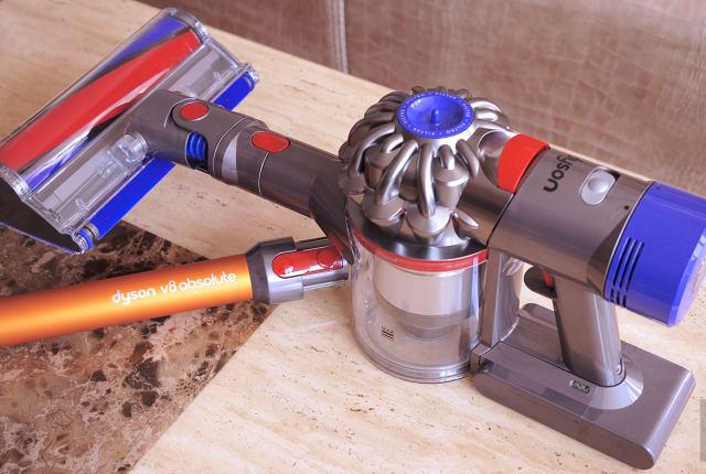 活 · 科技:Dyson V8 Absolute 無繩吸塵器