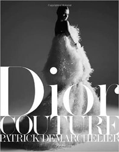 Dior Couture Patrick Demarchelier coffee table book