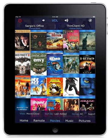 VidaBox adds tablet control for its Media Center PCs, iPad is first in line