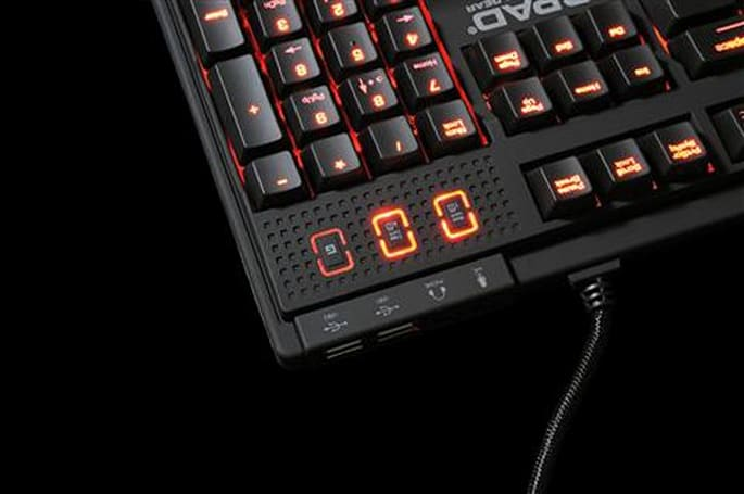 QPAD MK-85 gaming keyboard brings NKRO, Cherry MX switches, devilish red backlights