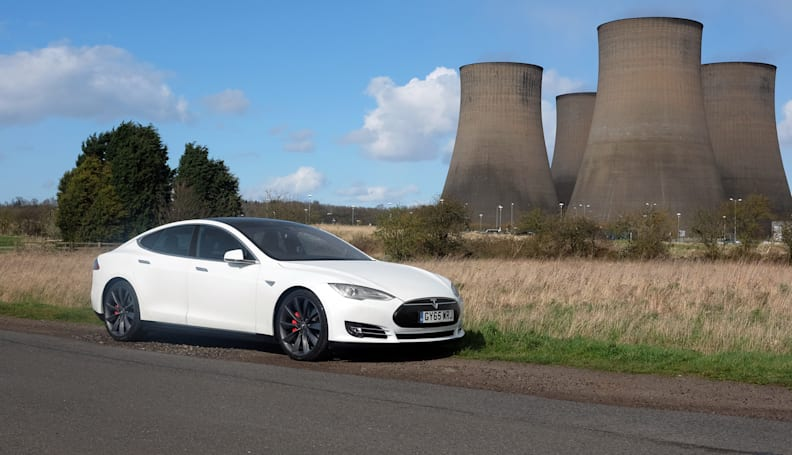 A semi-autonomous road trip in the Tesla Model S