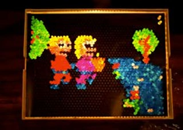 700,000 Lite-Brite pegs make stop-motion masterpiece in new music video