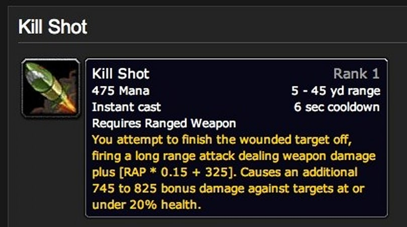 Scattered Shots: New and improved abilities