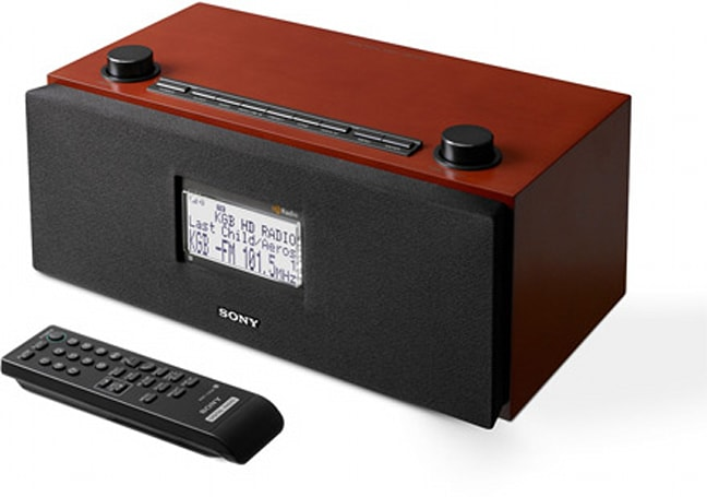 Sony's XDR-S3HD and XT-100HD gets your home, car into HD radio