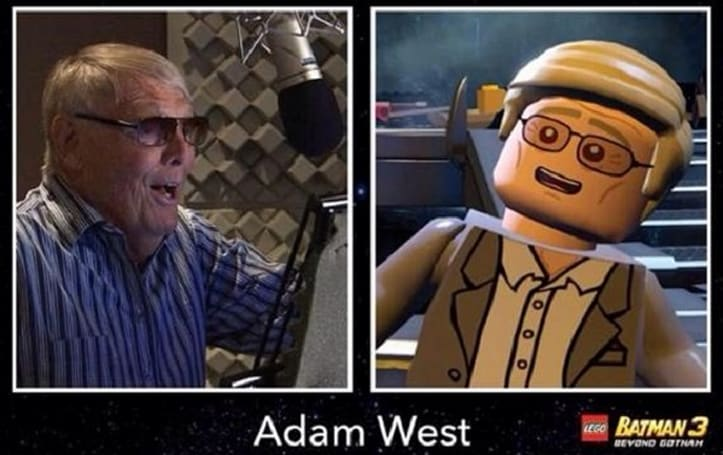 Holy cameo, Batman: Adam West as himself in Lego Batman 3