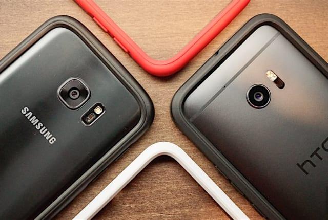 防摔規格上身,HTC 10 與 Galaxy S7 犀牛盾保護框動手玩