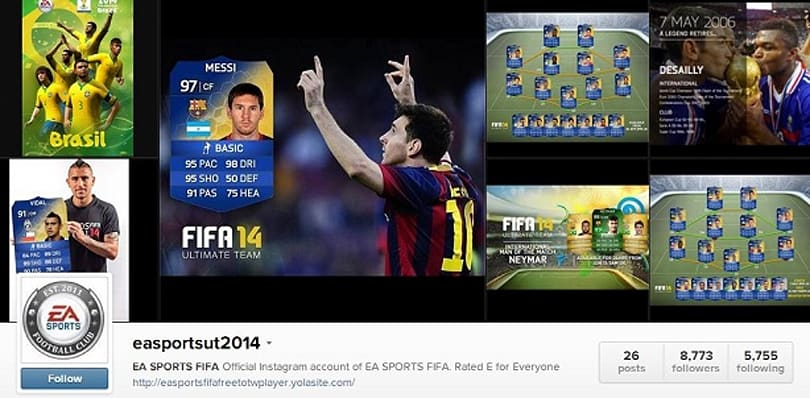 PSA: Fake EA Sports Instagram account phishing for Xbox, Origin logins