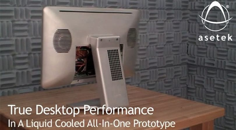Liquid-cooled Asetek prototype redefines our all-in-one expectations (video)