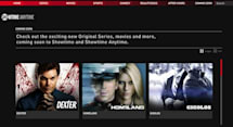 Showtime launches Anytime streaming portal, social iPad app