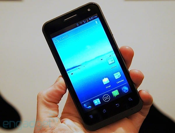 ZTE Engage for Cricket hands-on