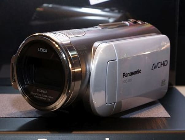 Panasonic's two 3CCD HD camcoders announced for US