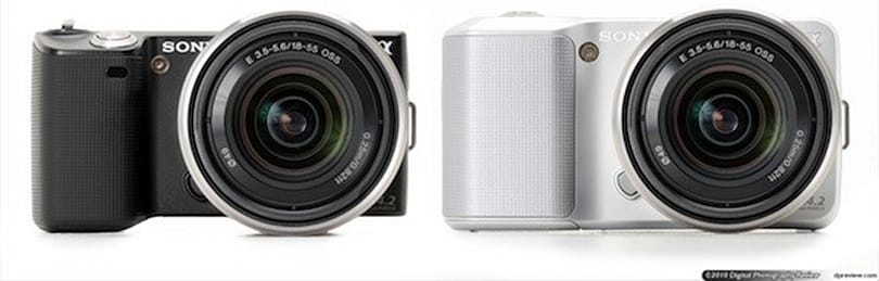 Sony's NEX-3, NEX-5 interchangeable lens cameras get reviewed
