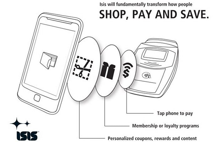 Isis adds Visa, MasterCard, American Express to mobile payment lineup