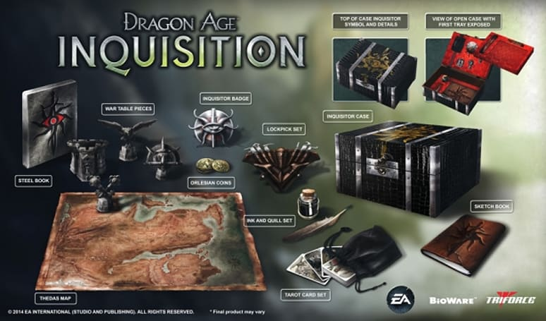Dragon Age: Inquisition Collector's Edition gives you the tools to be a real-life Inquisitor