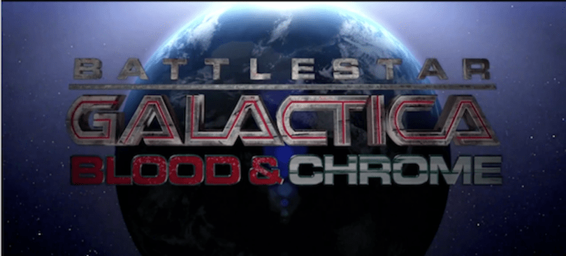 Battlestar Galactica: Blood & Chrome is coming home any way you want, YouTube's up first