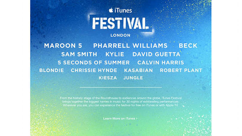 Apple adds Mary J. Blige, Tony Bennett and others to London's iTunes Festival 2014