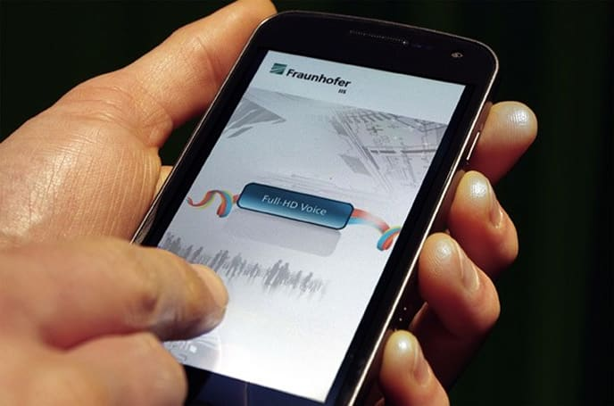 Fraunhofer's Full-HD Voice brings high fidelity VoLTE to Android smartphones