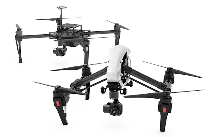 DJI has a thermal imaging camera for drones