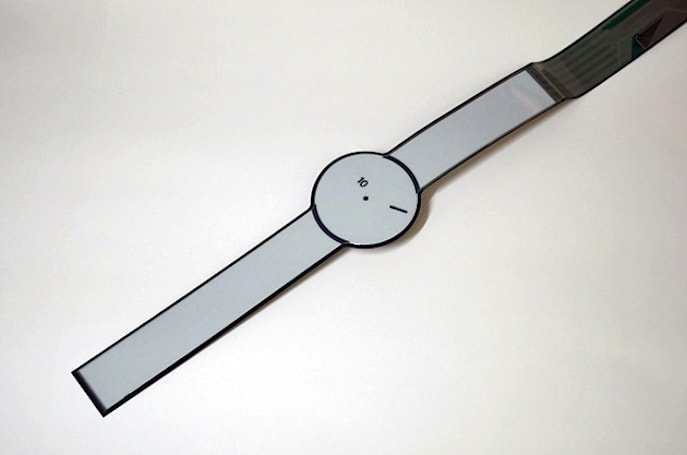 Sony was hiding its e-paper watch in plain sight all along