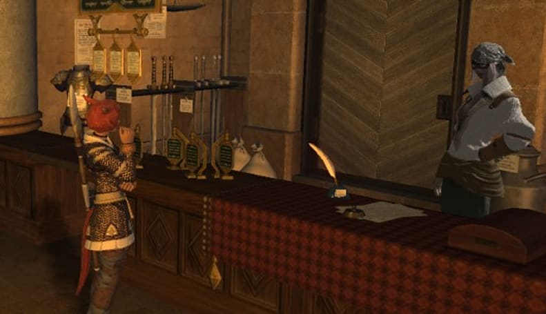 Final Fantasy XIV brings in the item search with the last update of the year