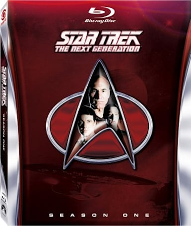 Star Trek: The Next Generation Season One Blu-ray beams down July 24th