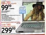 Circuit City to sell $100 Compaq laptop on Black Friday