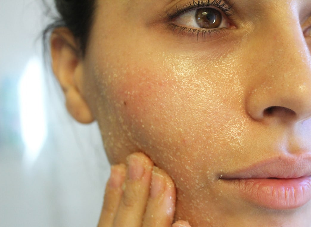 Learn how to make a DIY face scrub with three ingredients