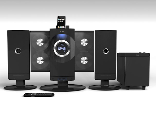 iLuv announces i9500 iPod / CD sound system