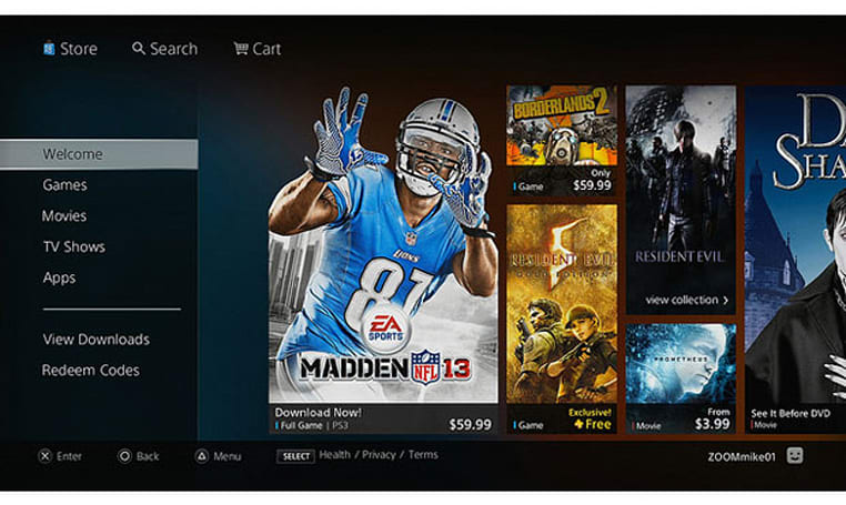 Redesigned PlayStation Store now live in North America