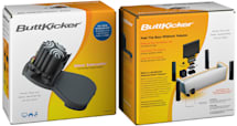 Wireless ButtKicker kit ready to rumble your posterior