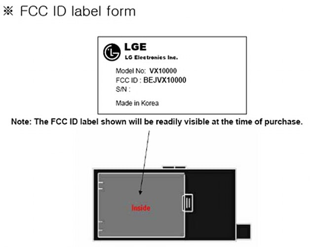 What is the LG VX10000?