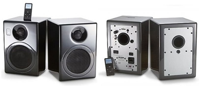Sierra Sounds' iN STUDIO 5.0 iPod-friendly speakers
