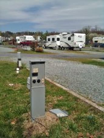 RV parks offer EV owners respite from the road (and their range anxiety, too)