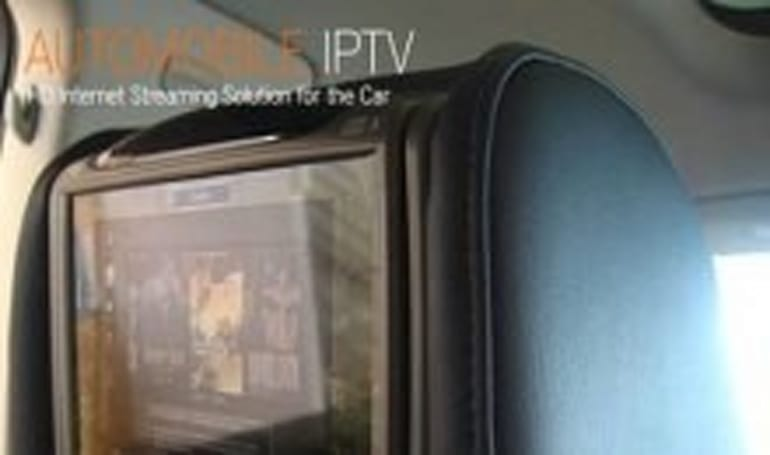 Matrixstream MX-Drive system delivers HD IPTV to your car