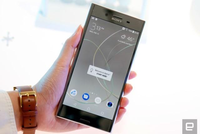 4Kスマホ再び──ソニーが旗艦スマホ「Xperia XZ Premium」発表。スナドラ835、1Gbps通信