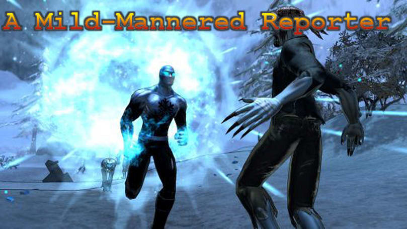 A Mild-Mannered Reporter: Asymmetry in superhero PvP