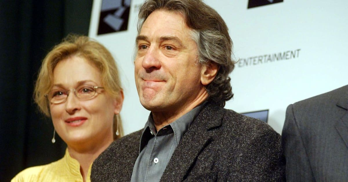 Robert De Niro Says 'Enough Is Enough' In Letter Supporting Meryl Streep