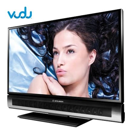 Mitsubishi now shipping VUDU powered 1080p streaming HDTVs