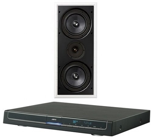 Jamo intros IW 827 in-wall speaker to the world, DMR 70 DVD receiver to US