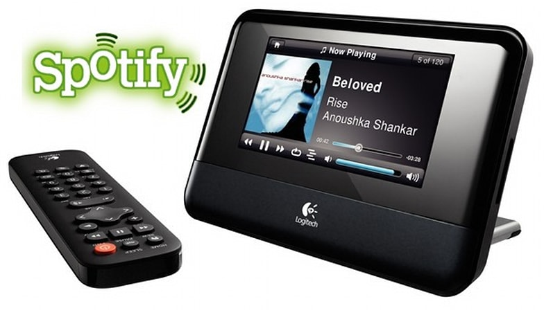 Spotify comes to Logitech Squeezebox, makes non-Europeans mildly jealous